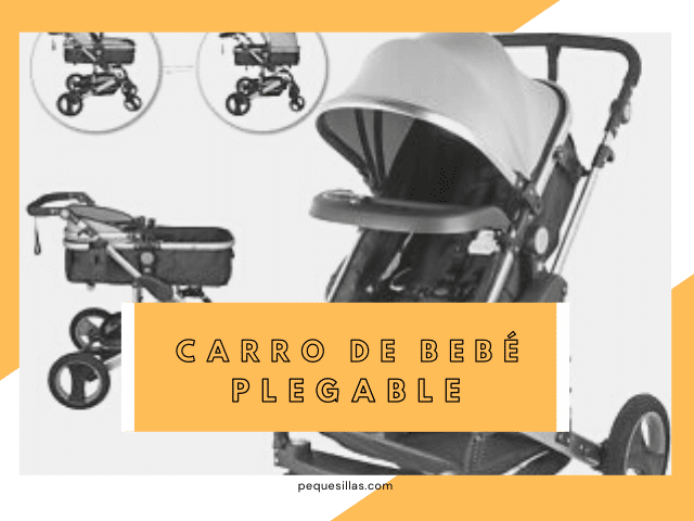 carro bebe plegable