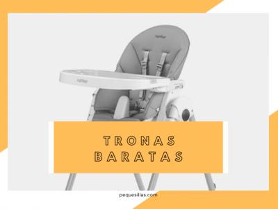mejores tronas de bebe baratas
